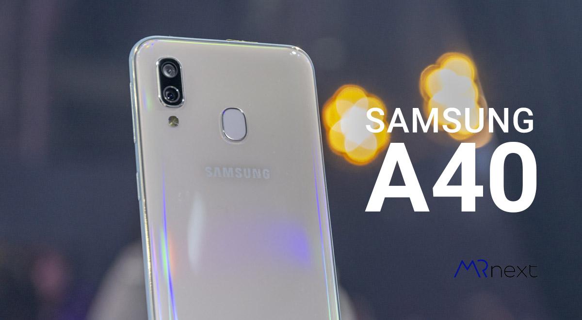تصویر از سامسونگ گلکسی ای 40 | SAMSUNG Galaxy A40