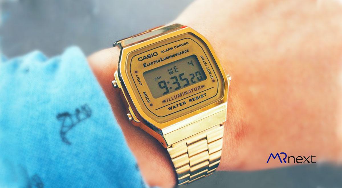 ساعت مچی دیجیتالی کاسیو مدل A168WG-9WDF مسترنکست