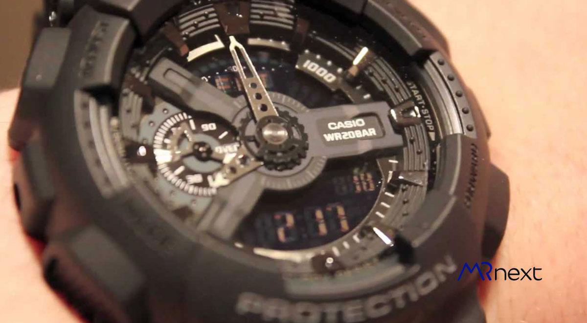ساعت-مچی-دیجیتال-مردانه-کاسیو-مدل-جی-شاک-مدل-GA-110-1B مسترنکست