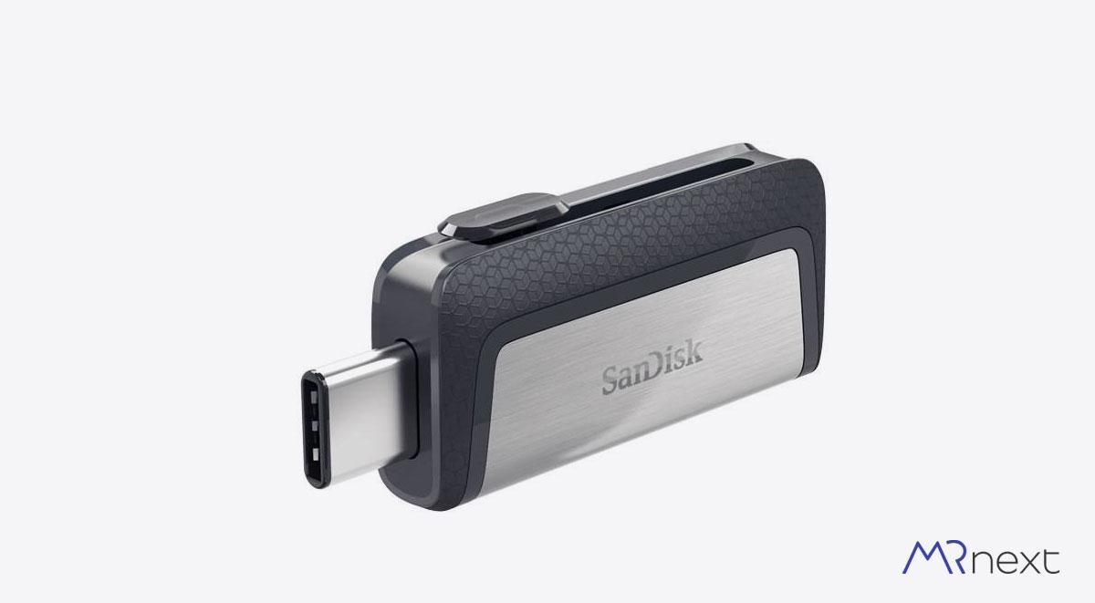 فلش مموری سن دیسک مدل Ultra Dual Drive USB Type-C مسترنکست
