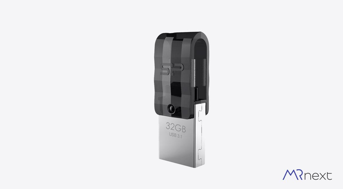 فلش مموری سیلیکون پاور مدل Mobile C31 مسترنکست