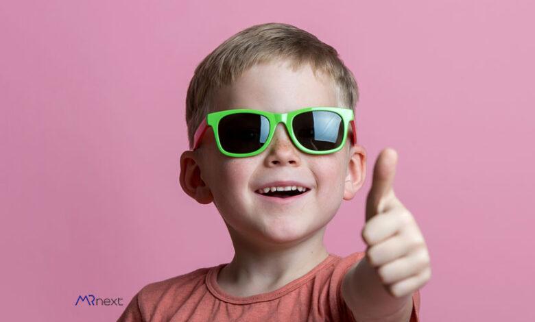 بهترین عینک آفتابی بچگانه برای پسر بچه