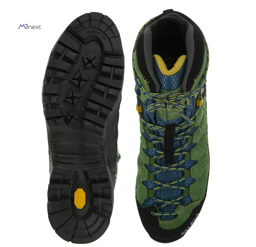 بهترین کفش کوهنوردی - کفش کوهنوردی مردانه سالیوا مدل THE ALPINE FIT