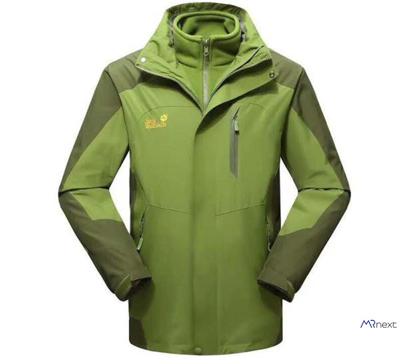 بهترین بادگیر و کاپشن کوهنوردی - کاپشن کوهنوردی مردانه جک ولف اسکین مدل a3