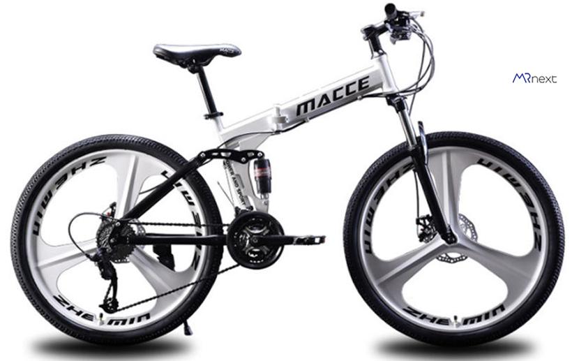 بهترین دوچرخه کوهستان - دوچرخه تاشو مدل MACCE-204 سایز 26