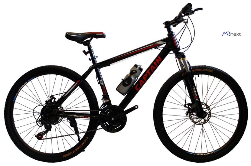 بهترین دوچرخه کوهستان - دوچرخه کوهستان کاپیتان مدل FAST سایز 26