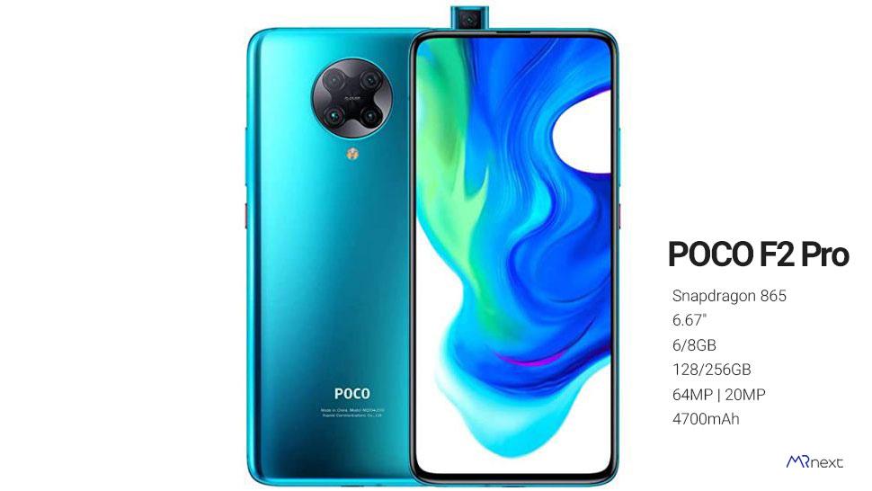 بهترین گوشی شیائومی 2021 - گوشی پوکو اف 2 پرو