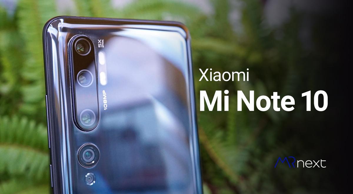 تصویر از شیائومی ردمی نوت 10 | Xiaomi Mi Note 10