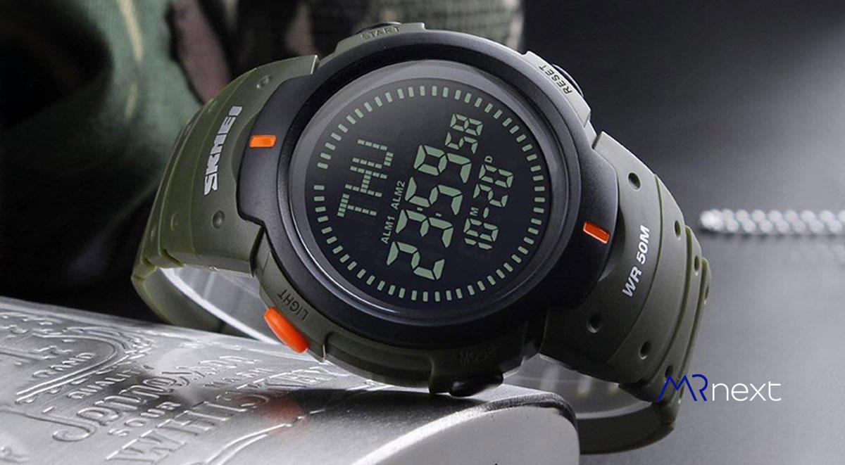 ساعت مچی دیجیتالی مردانه اسکمی مدل 1231 قطب نما دار مسترنکست