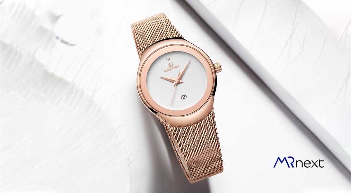 ساعت مچی زنانه نیوی فورس مدل NF5004/RGW مسترنکست