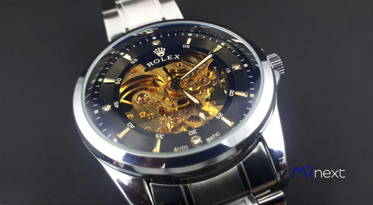 ساعت مچی عقربه ای مردانه رولکس مدل R101 مسترنکست