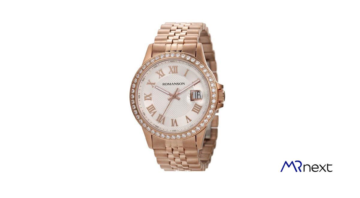 ساعت مچی عقربه ای زنانه رومانسون مدل TM0361QM1RAS6R مسترنکست
