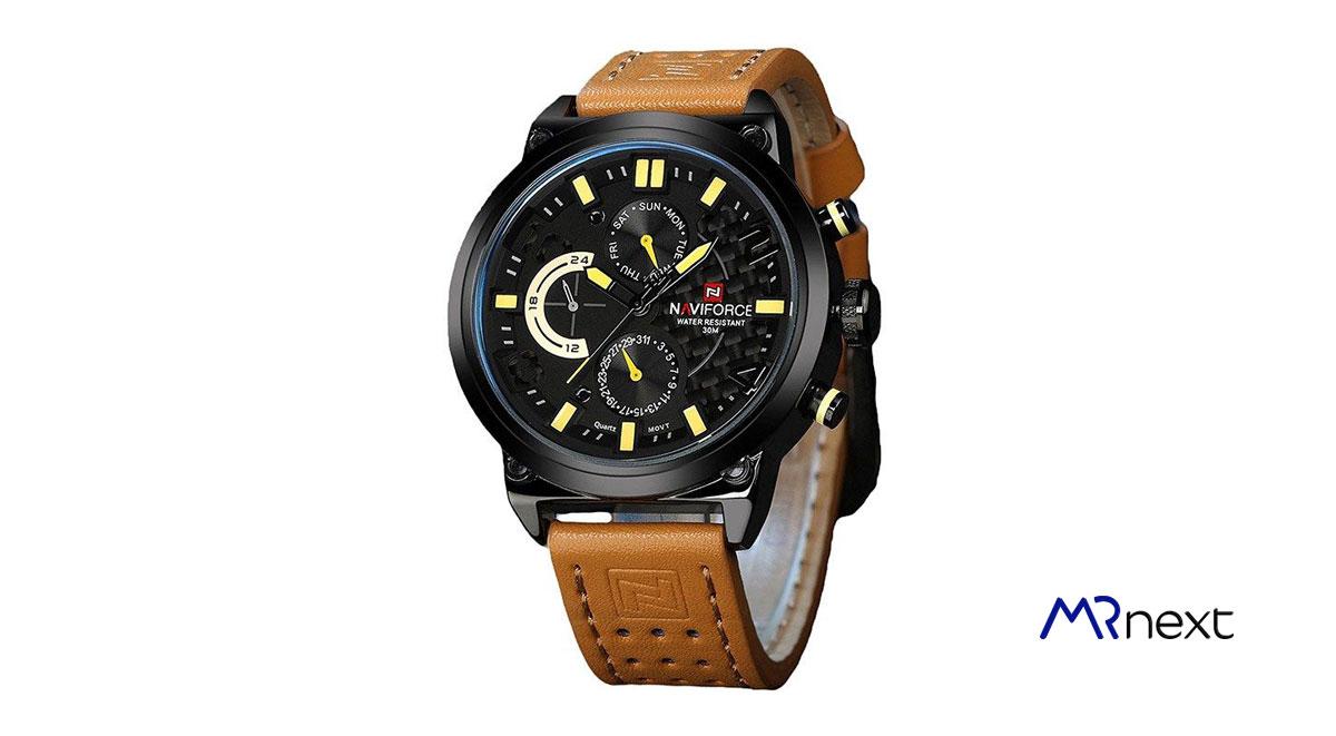 ساعت-مچی-عقربه-ای-مردانه-نیوی-فورس-مدل-NF9068L مسترنکست