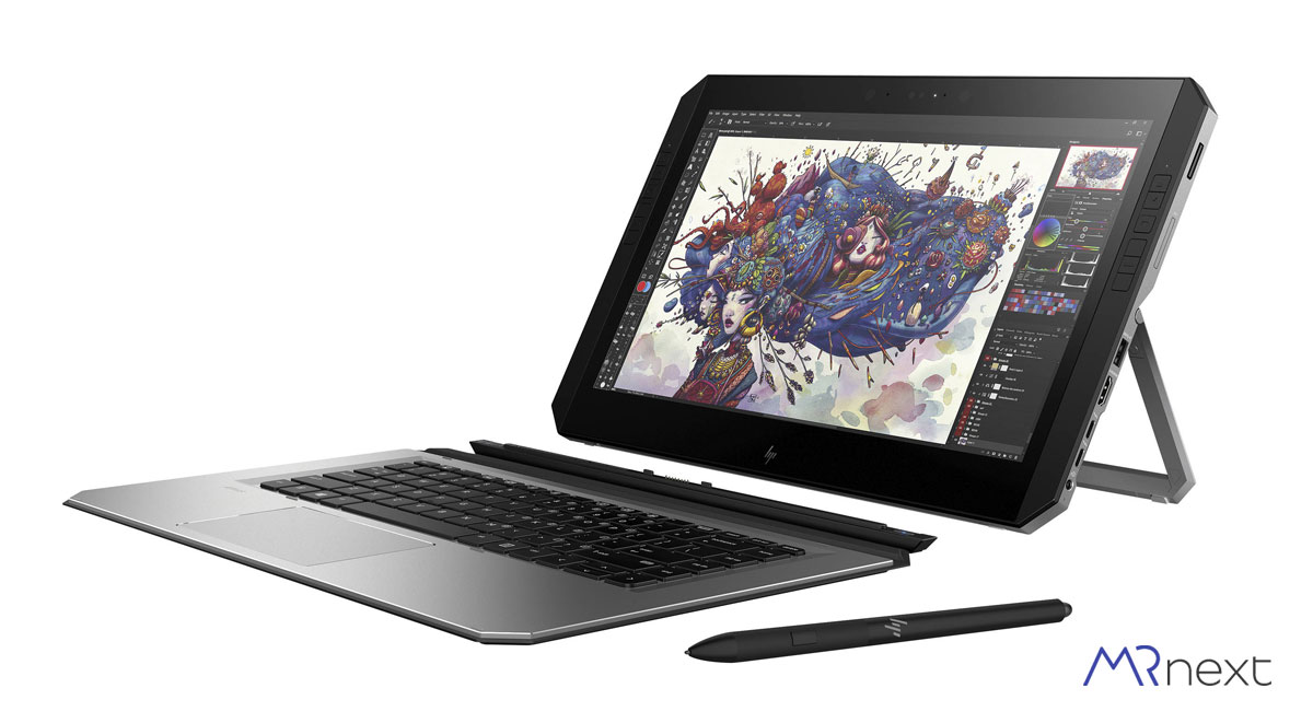 بهترین-لپ-تاپ-برای-کارهای-گرافیکی-در-سال-2020---HP ZBook X2---دیجی-کالا-مسترنکست