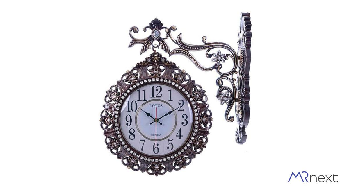 ساعت دیواری لوتوس مدل دو طرفه دیجی کالا مسترنکست