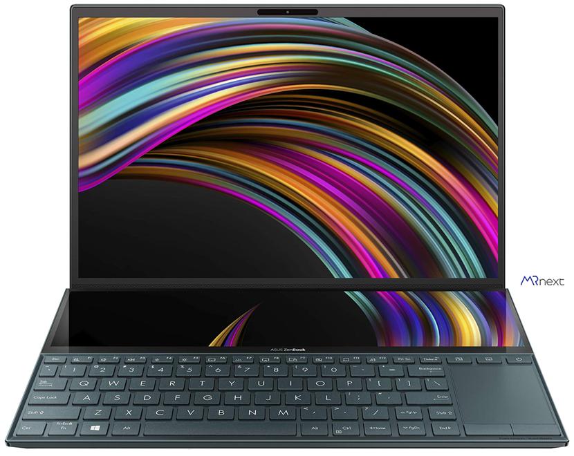 بهترین لپ تاپ برای دانشجویان - لپ تاپ ایسوس مدل ZenBook Duo UX481FLC - AP