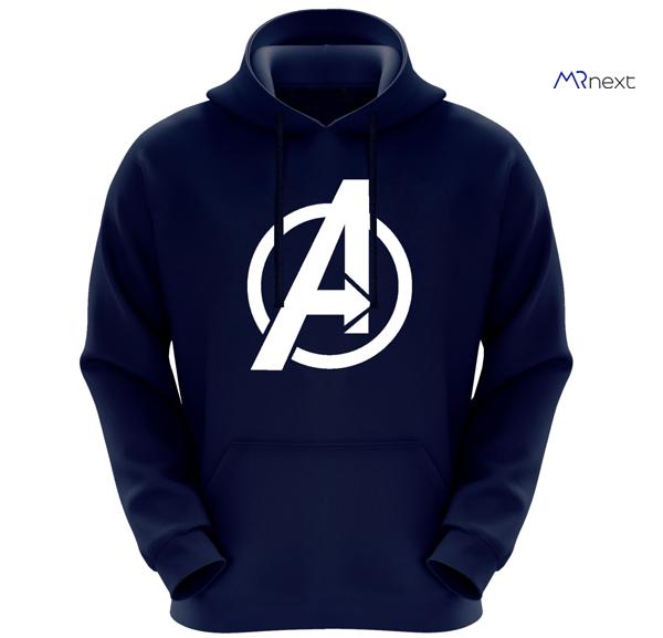 خرید هودی زیبا - هودی مردانه طرح Avengers کد F268 رنگ سرمه ای دیجی کالا