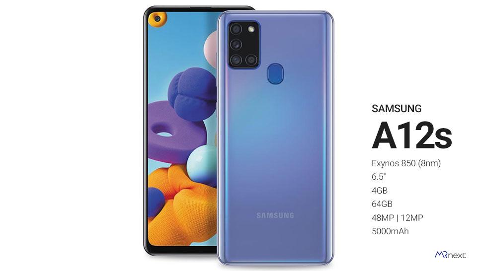 پرفروش ترین گوشی زیر 5 میلیون تومان - سامسونگ ای 12 اس