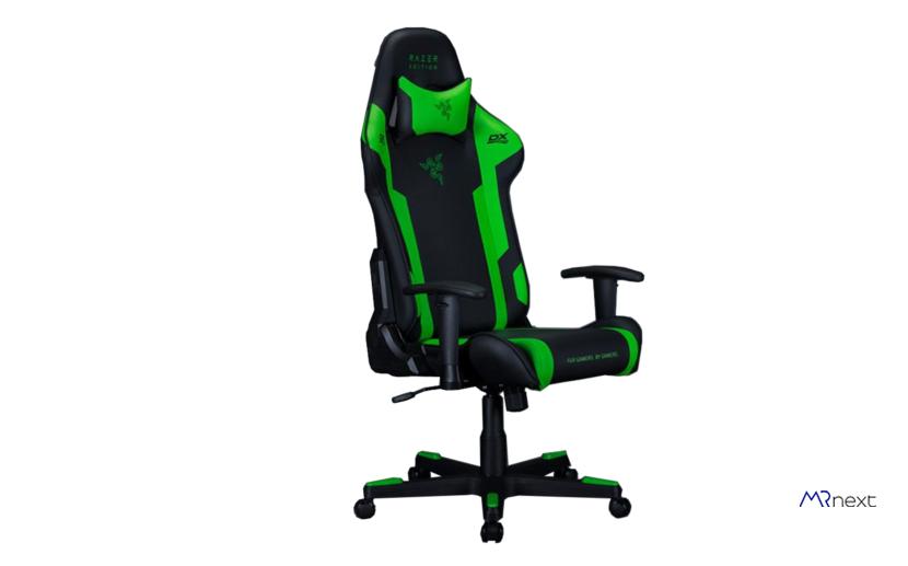 بهترین صندلی گیمینگ - صندلی گیمینگ دی ایکس ریسر طرح ریزر مدل GC-P133-NE