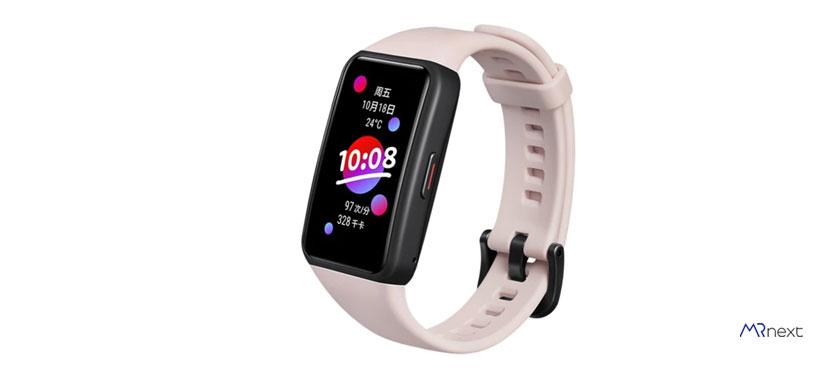 بهترین مچ بند هوشمند - مچ بند هوشمند آنر مدل Band 6 NFC