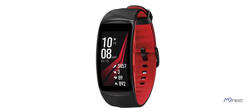 بهترین مچ بند هوشمند - مچ بند هوشمند سامسونگ Gear Fit 2 Pro